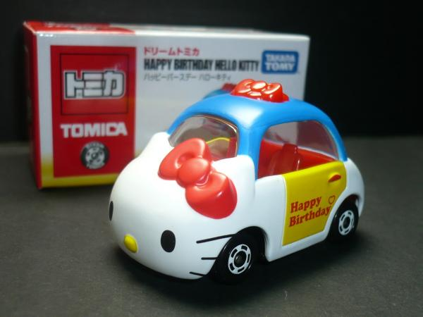 凱蒂貓Hello Kitty_玩具_Hello Kitty-TOMY車-KT40th限定