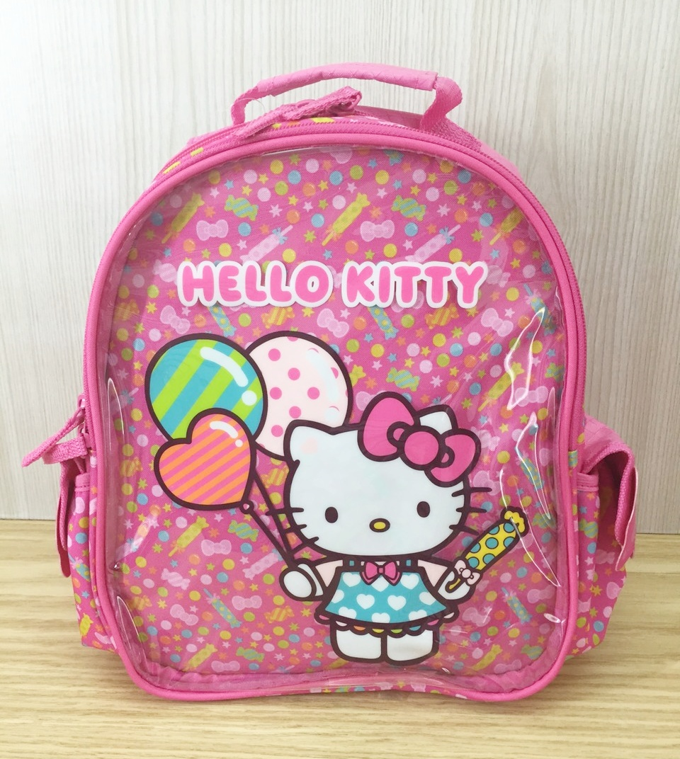 凱蒂貓Hello Kitty_書包背包_Hello Kitty- 後背包-KT嘉年華粉