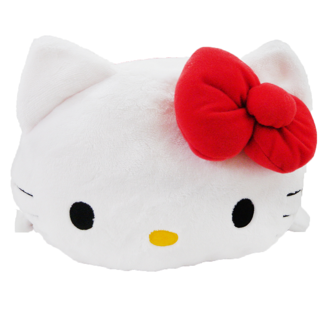凱蒂貓Hello Kitty_抱枕_Hello Kitty- KT筒形抱枕-紅