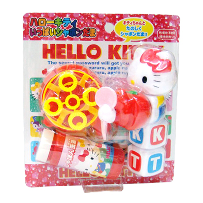 凱蒂貓Hello Kitty_兒童百貨_Hello kitty-字母吹泡泡