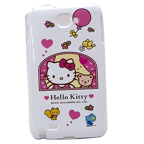 凱蒂貓Hello Kitty_生活日用品_Hello kitty-NOTE保護殼-窗台